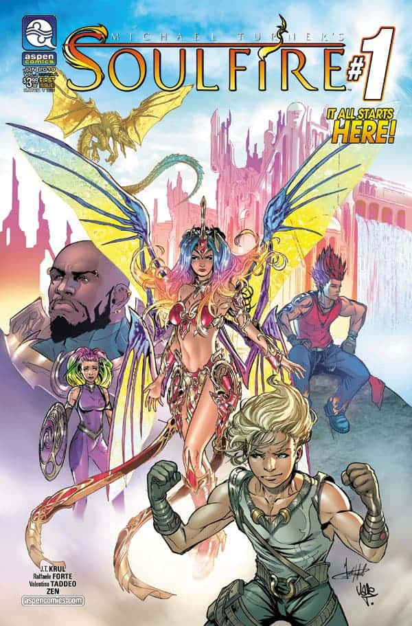 SOULFIRE Vol. 8 #1 - Cover A