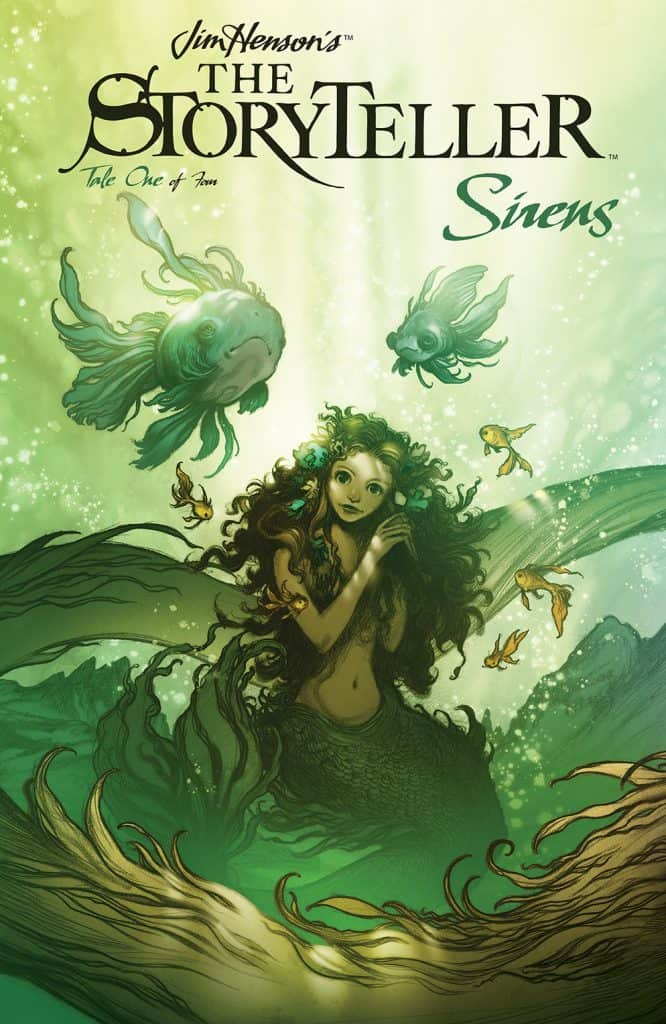 Jim Henson's The Storyteller: Sirens #1 - Main Cover