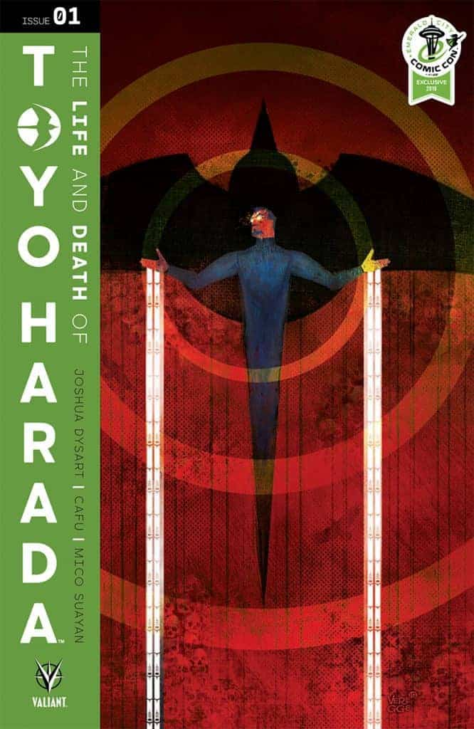 THE LIFE AND DEATH OF TOYO HARADA #1 ECCC VARIANT, Cover Art by Jeffrey Veregge