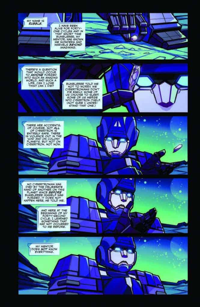 Transformers #2 preview page 2