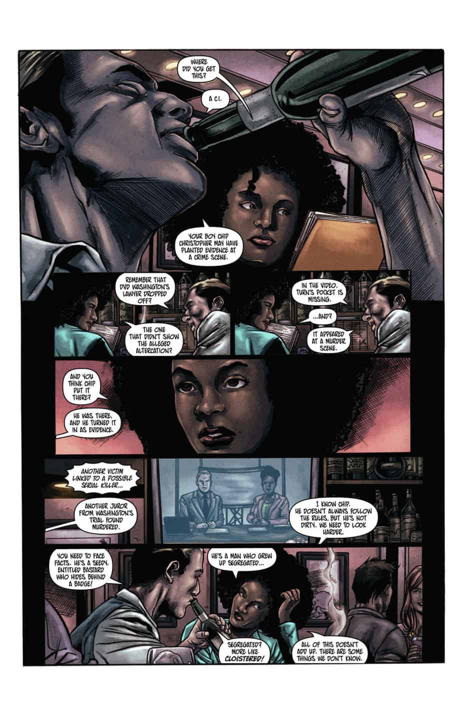Vindication #3 preview page 2