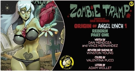 Zombie Tramp #57 preview feature