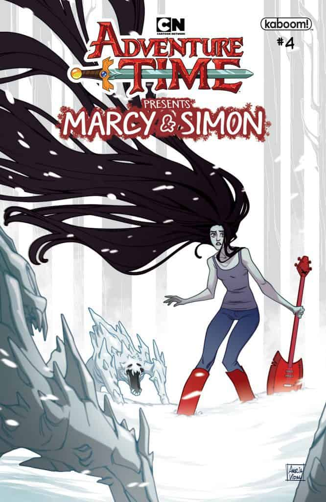 Adventure Time: Marcy & Simon #4 - Marcy Preorder Cover