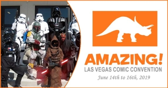 Amazing Las Vegas Comic Con 2019 first look feature