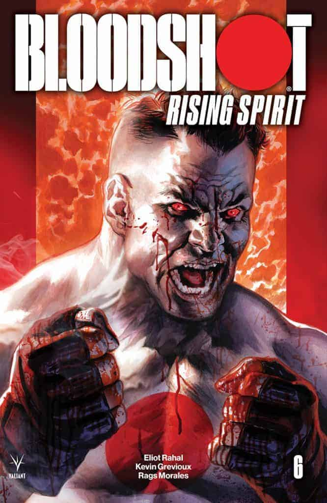 BLOODSHOT RISING SPIRIT #6 - Cover A