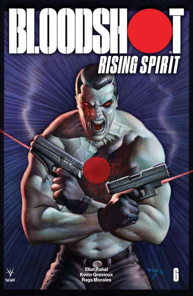 BLOODSHOT RISING SPIRIT #6 - Cover B