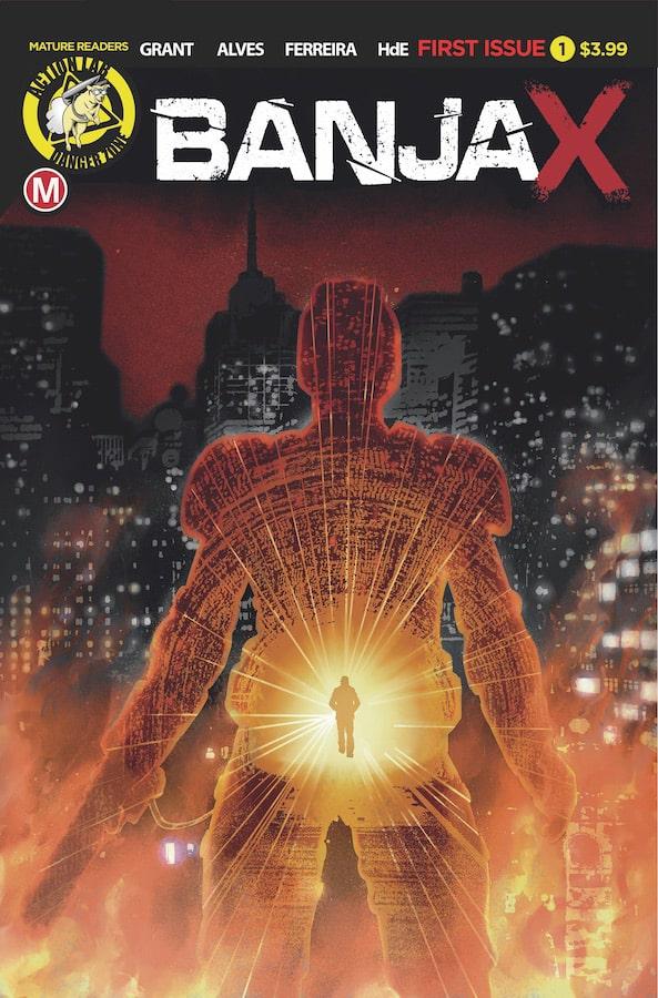 Banjax #1 - Cover A