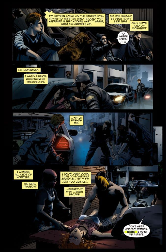 Banjax #1 - preview page 8