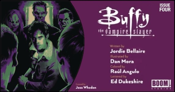 Buffy the Vampire Slayer #4 preview feature