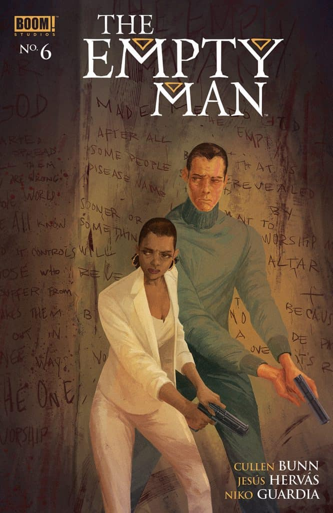 THE EMPTY MAN #6 - Main Cover