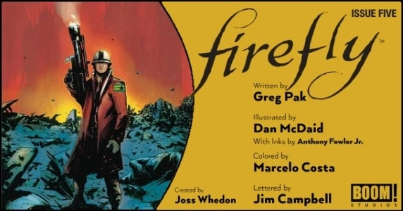 Firefly #5 preview feature
