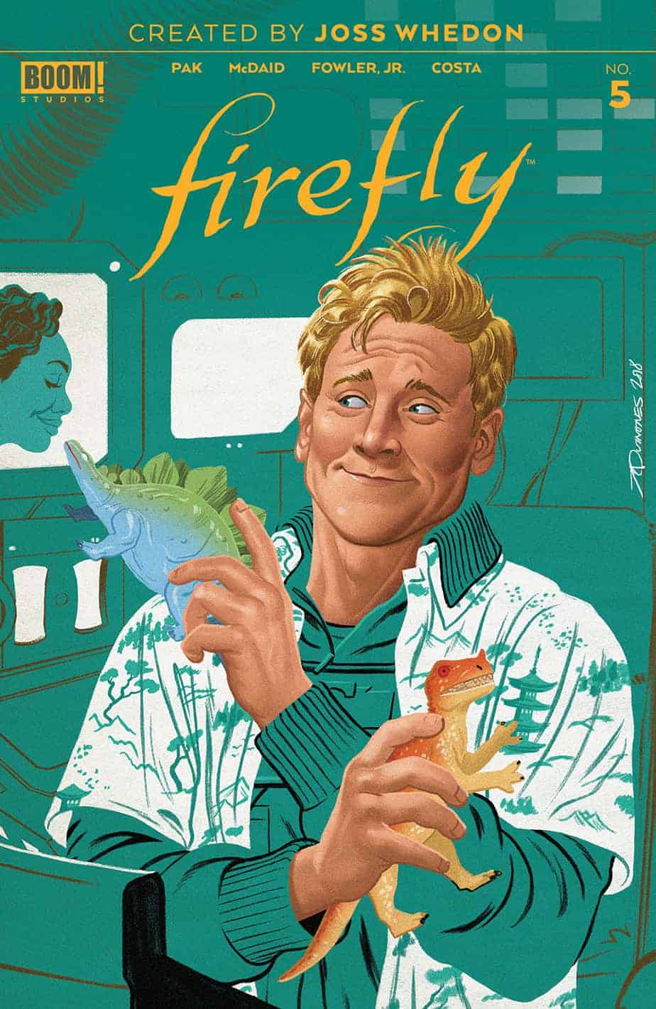 Firefly #5 – Preorder Cover B