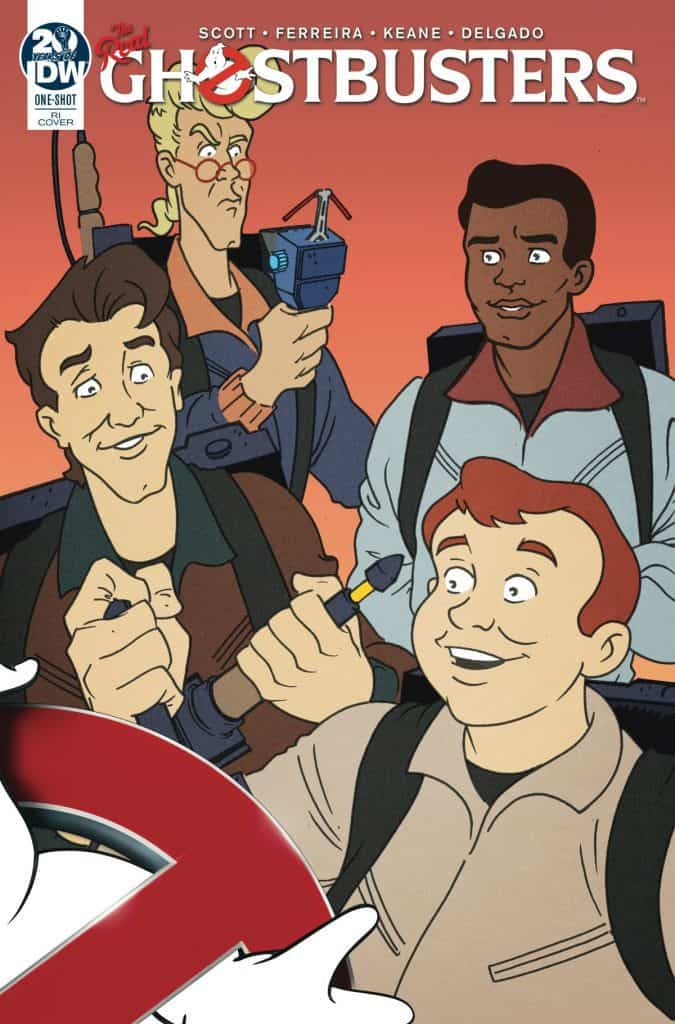 Ghostbusters 35th Anniversary: Real Ghostbusters #1 - Retailer Incentive Variant