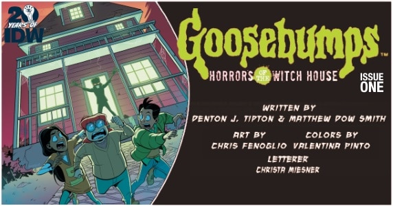 Goosebumps Horrors of the Witch House #1 preview feature