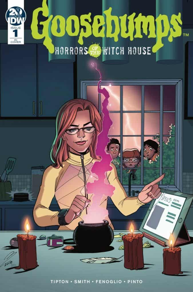 Goosebumps: Horrors of the Witch House #1 - Retailer Incentive