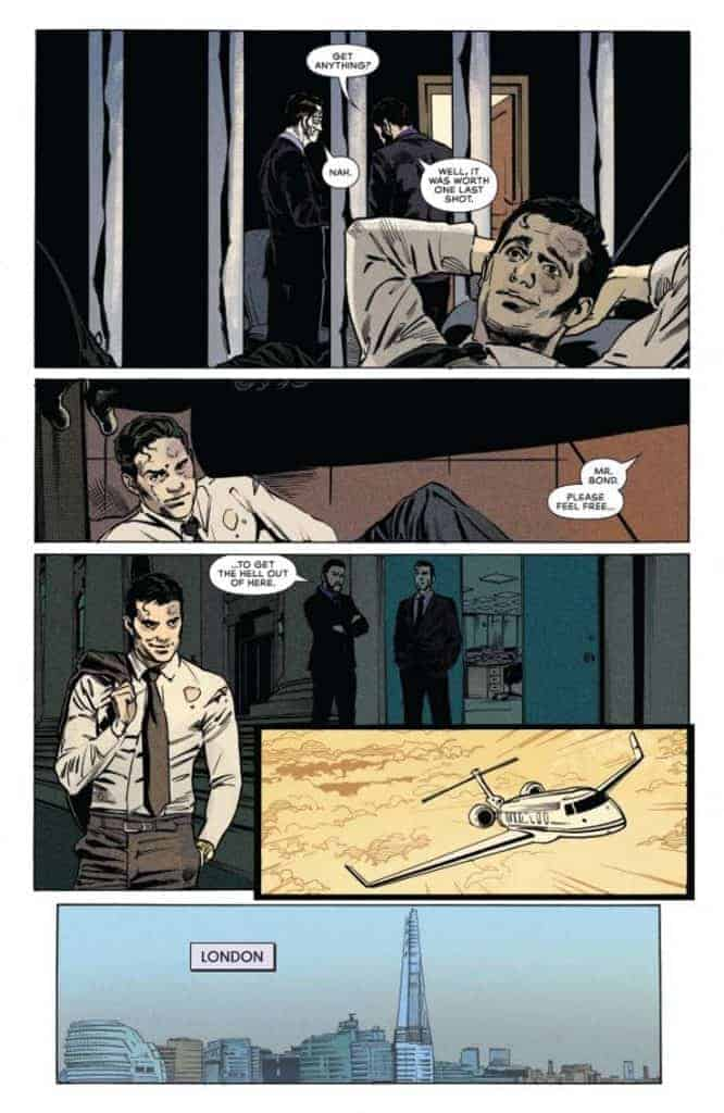 James Bond 007 #6 preview page 4