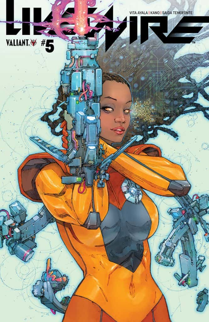 LIVEWIRE #5 - Cover A