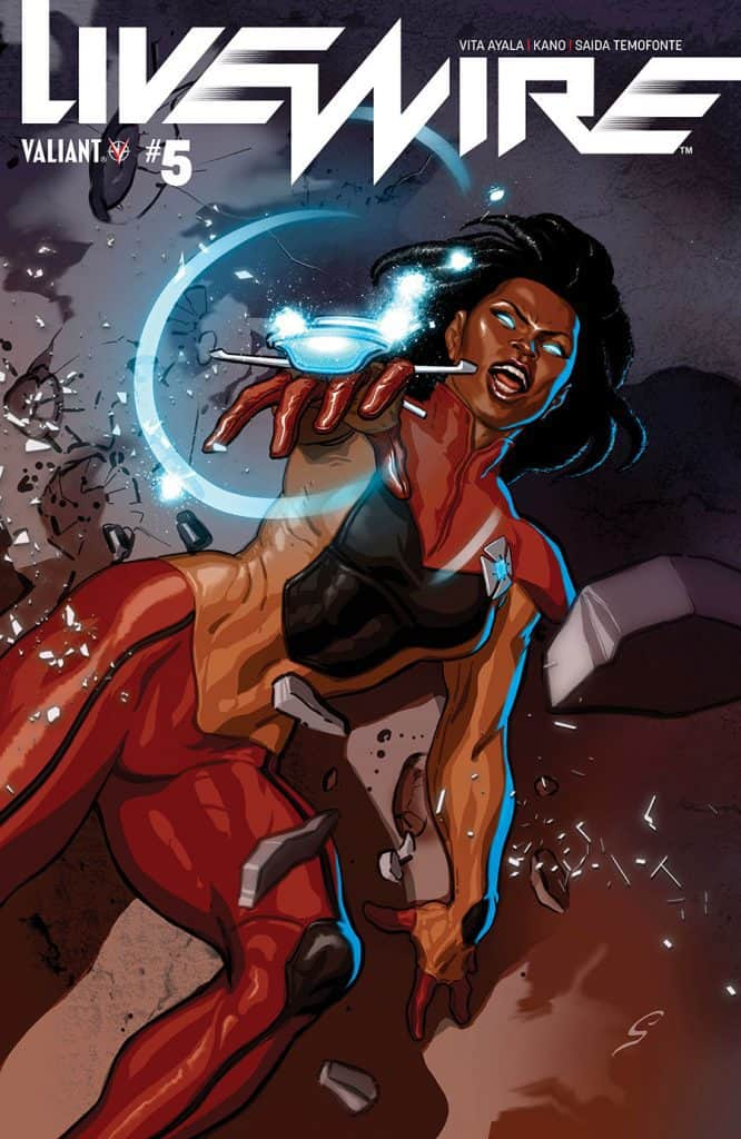 LIVEWIRE #5 - Cover C