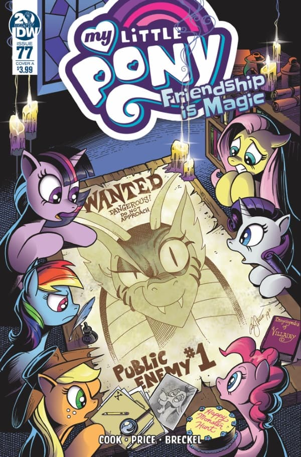 My Little Pony: Friendship is Magic #77 - Cover A
