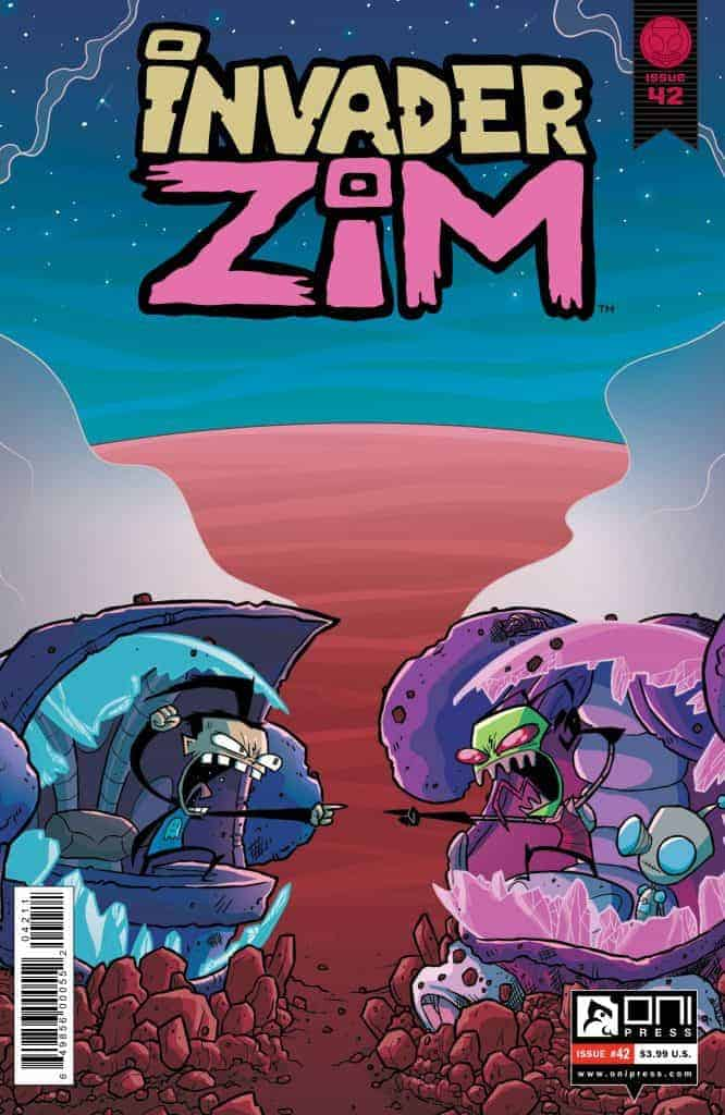 Invader ZIM #42 - Cover A