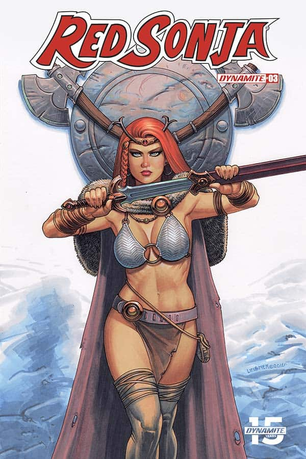Red Sonja (Vol.5) #3 - Cover B
