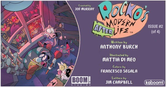 Rocko's Modern Afterlife #2 preview feature