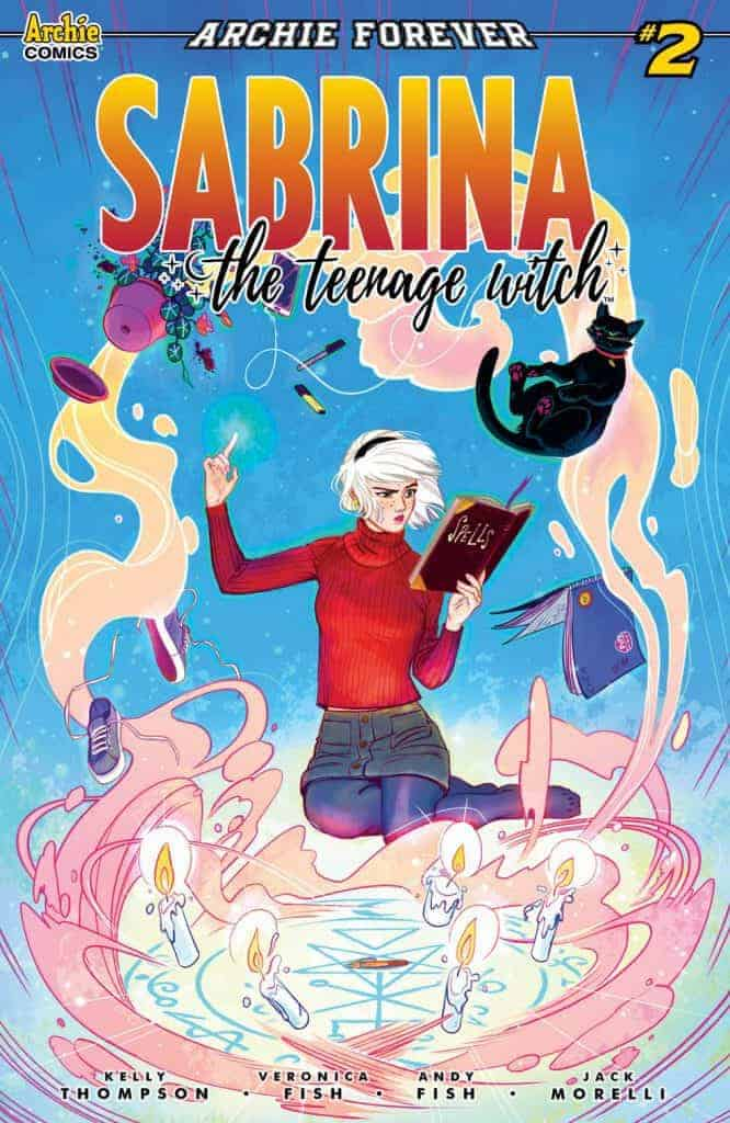 Sabrina the Teenage Witch #2 - Main Cover by Veronica & Andy Fish