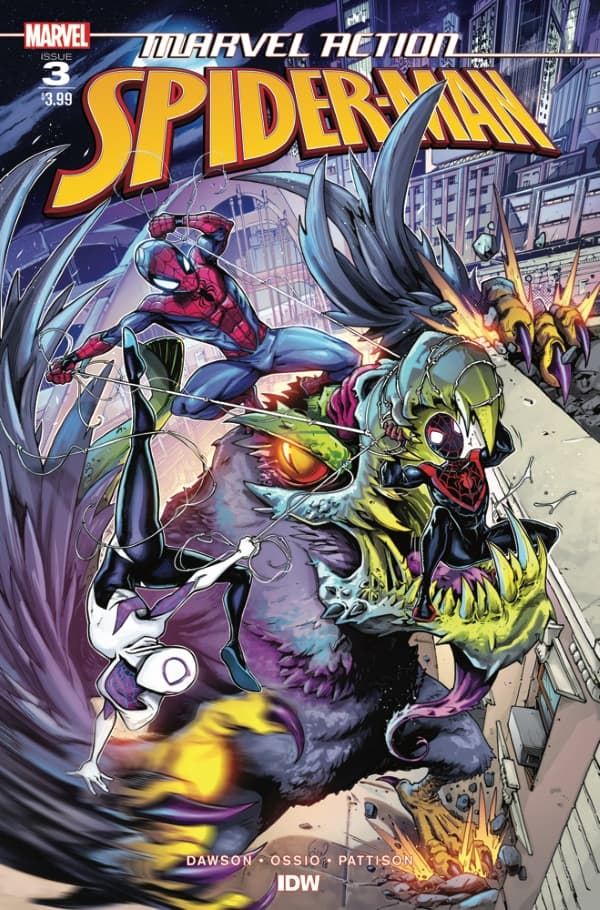 Marvel Action: Spider-Man #3 - Cover A