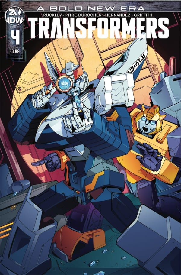 Transformers #4 - Cover B