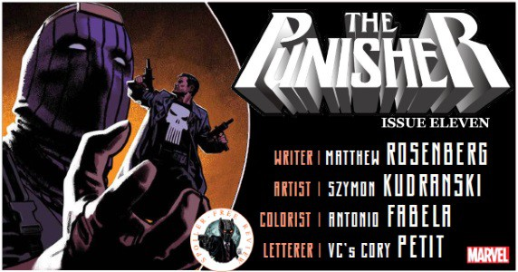 The Punisher #11 review feature