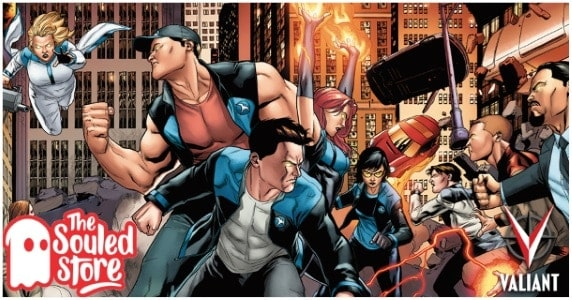 Valiant Teams with The Souled Store feature