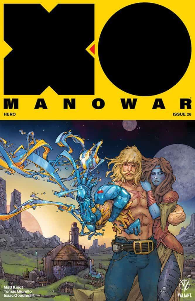 X-O MANOWAR #26 - Cover A