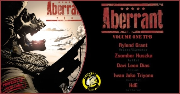Aberrant Vol. 1 TPB preview feature