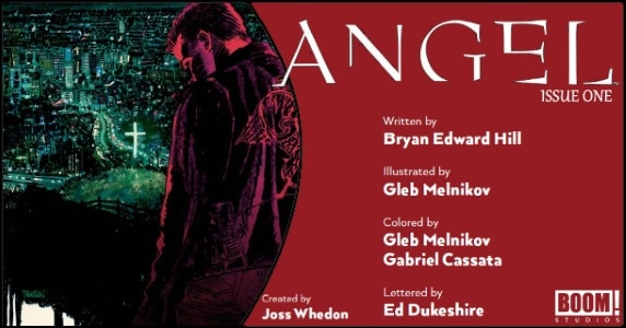 Angel #1 preview feature
