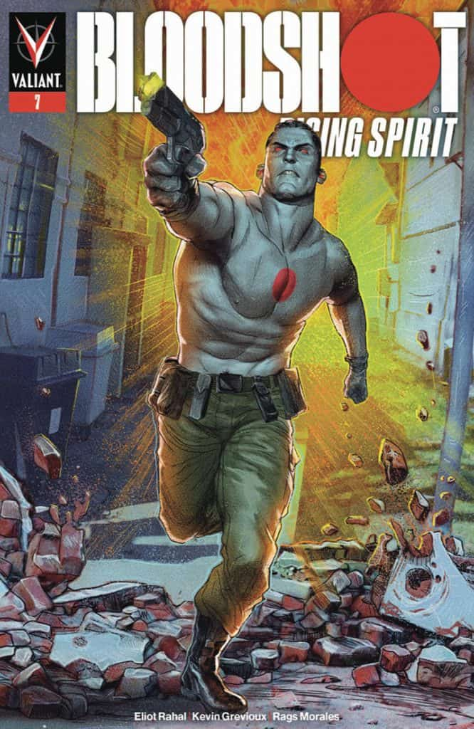 BLOODSHOT RISING SPIRIT #7 - Cover A