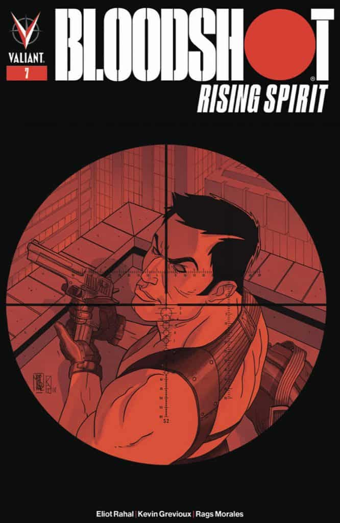 BLOODSHOT RISING SPIRIT #7 - Cover B