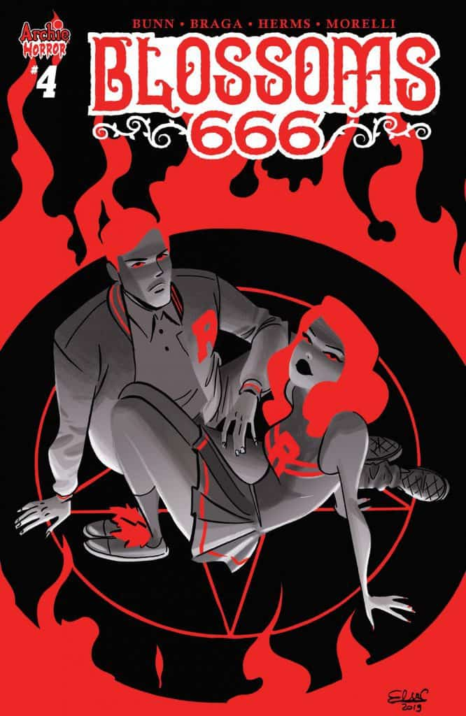 Blossoms 666 #4 - Variant Cover by Elsa Charretier