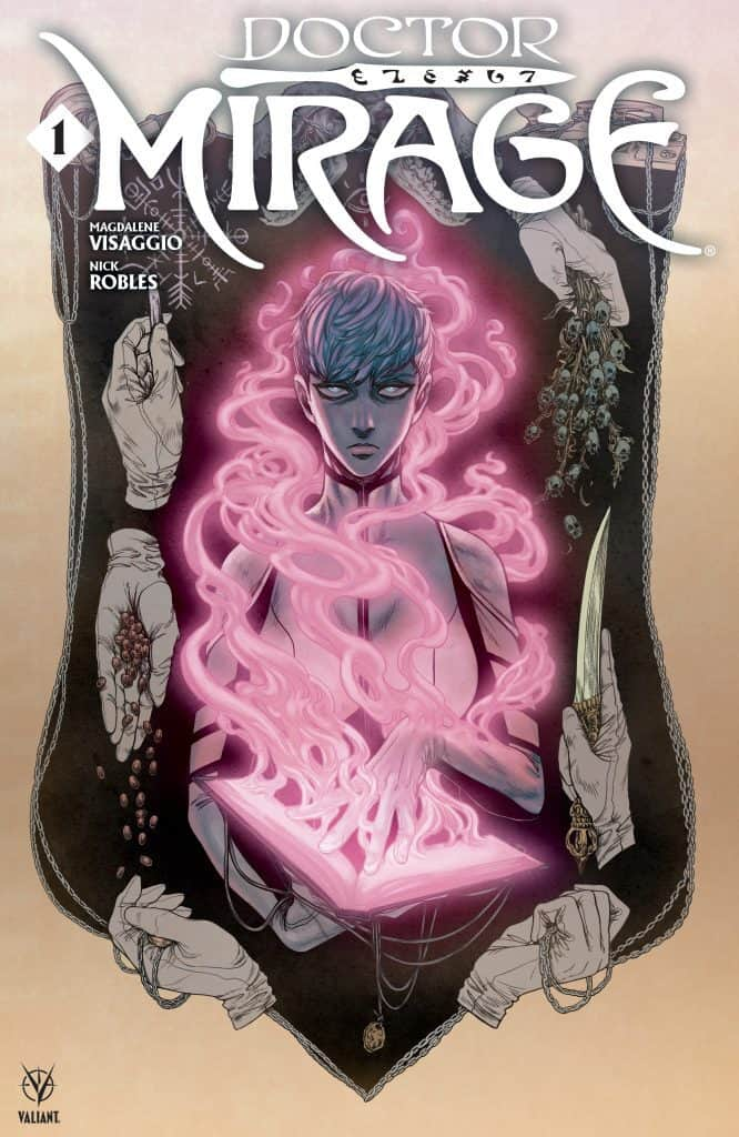 Doctor Mirage #1 - Haunted Variant Cover