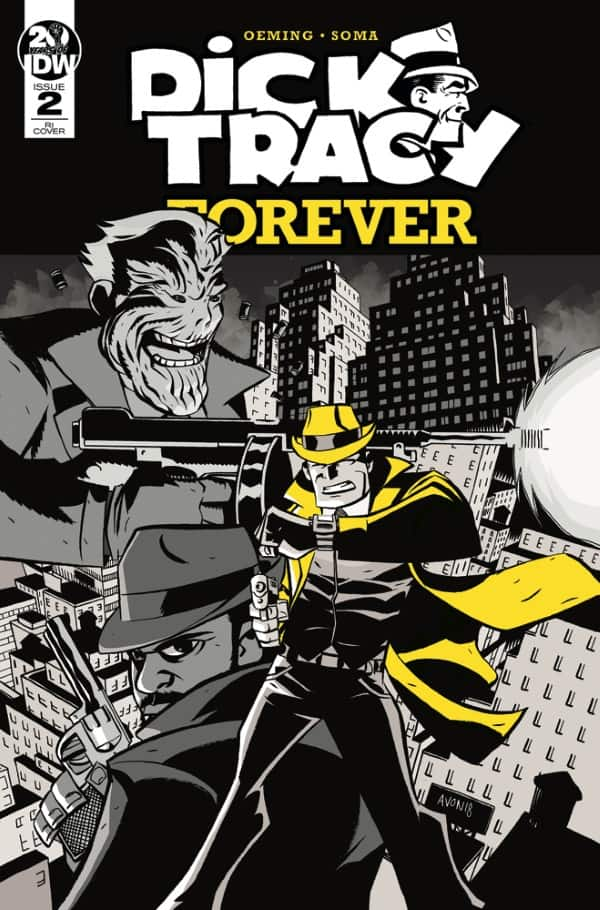 Dick Tracy Forever #2 - Retailer Incentive Cover