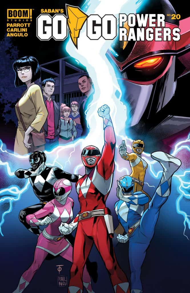 Saban's Go Go Power Rangers #20 - Main Cover