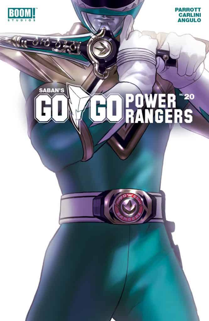 Saban's Go Go Power Rangers #20 - Intermix Cover