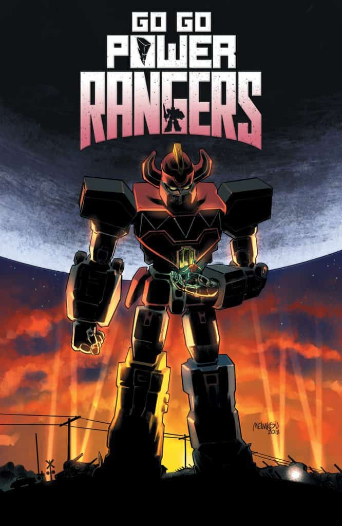Saban's Go Go Power Rangers #20 - Homage Incentive Cover
