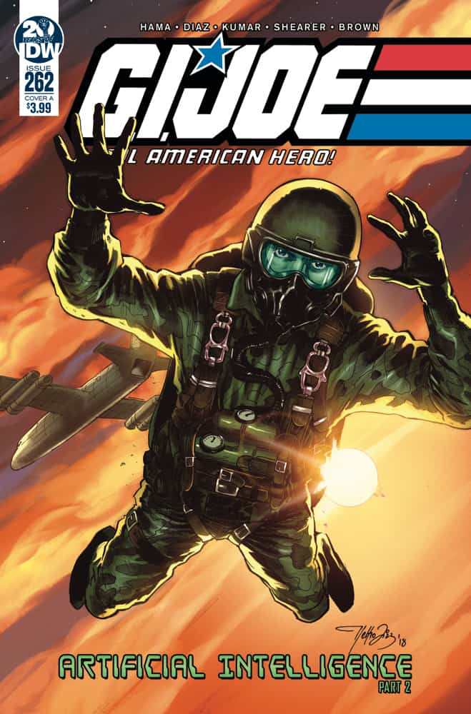 G.I. Joe: A Real American Hero #262 - Cover A