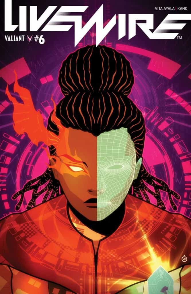 LIVEWIRE #6 - Cover C