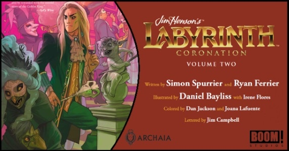 Labyrinth Coronation Vol. 2 HC preview feature