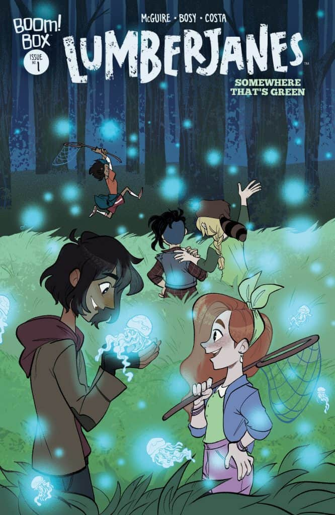 Lumberjanes: Somewhere That's Green #1 - Main Cover