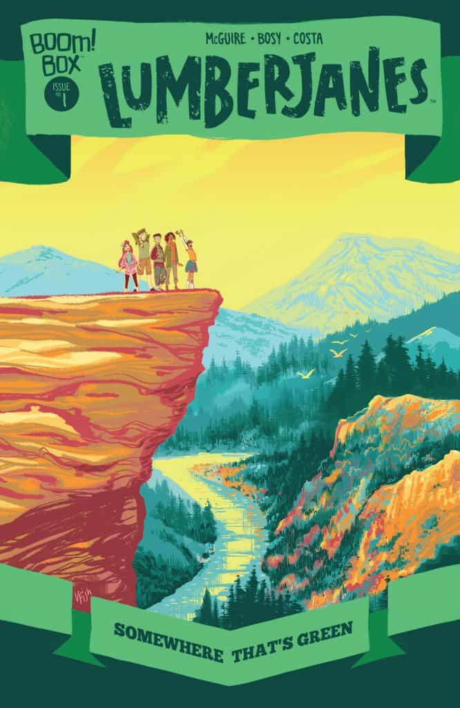 Lumberjanes: Somewhere That's Green #1 - Preorder Cover