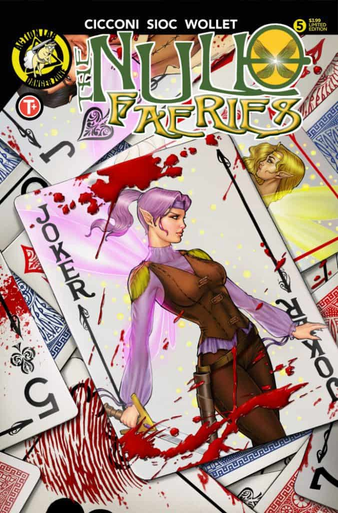 Null Faeries #5 Cover B