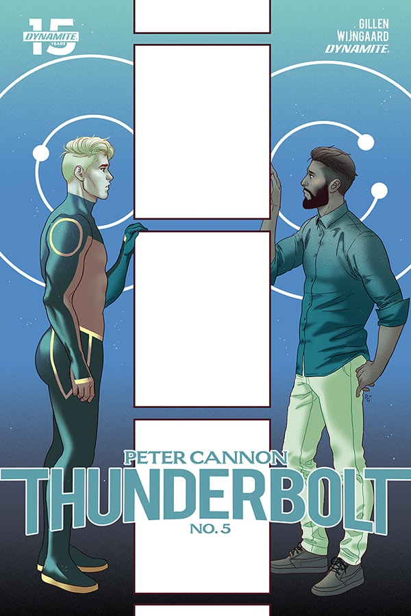 Peter Cannon Thunderbolt #5 - Cover B