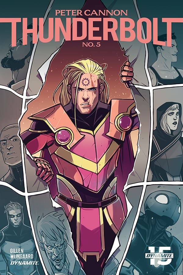 Peter Cannon Thunderbolt #5 - Cover C